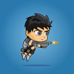 Nanz - 2D Boy Game Character Sprite