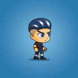 Aex - Boy 2D Game Character Sprite