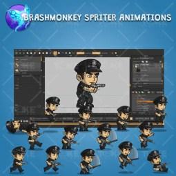 Policeman - Robert - Brashmonkey Spriter Character Animation