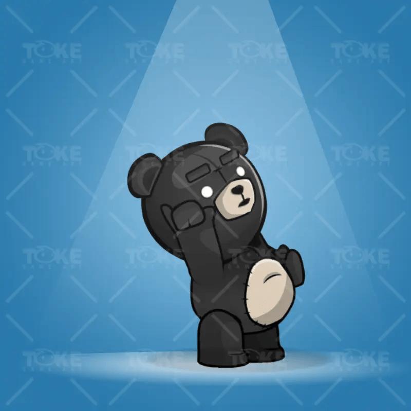 Teddy Bear TED - Black Version