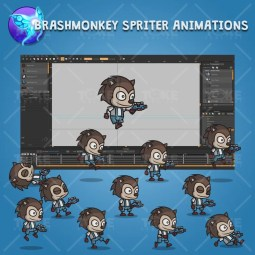 Hedgehog Guy - Brashmonkey Spriter Character Animations