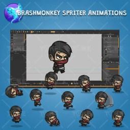 Medieval Thug - Brashmonkey Spriter Character Animations