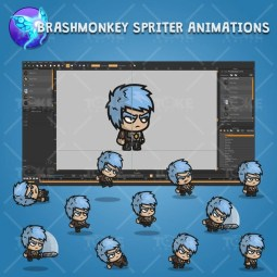 Medieval Warrior - Brashmonkey Spriter Character Animations