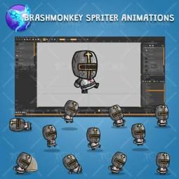 Templar Knight - Brashmonkey Spriter Character Animations