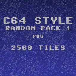 Random Tiles Pack 1 - 2D Game Tileset