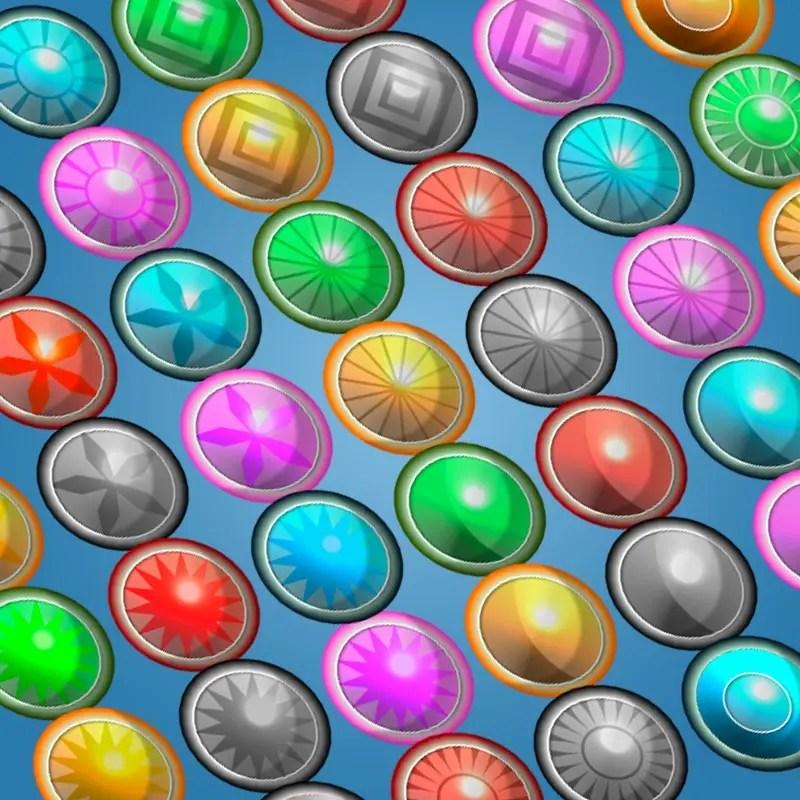 48 Gems Pack - 2D Game Asset
