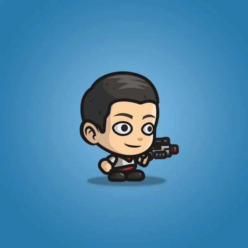 Adventurous Guy 01 - 2D Character Sprite
