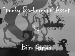 Spooky Background Asset - 2D Game Asset