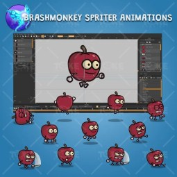 Red Apple Guy - Brashmonkey Spriter Character Animations