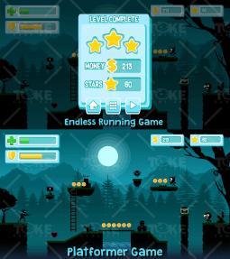 Game Kit - 2D Game Art Template | TokeGameArt