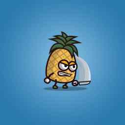 Pineapple Guy - 2D Character Sprite