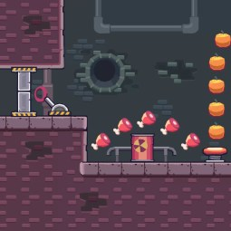 Seamless Sewer Area - 2D Game Tileset