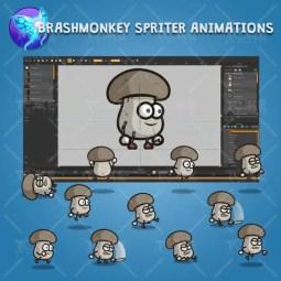 Mushroom Guy - Brashmonkey Spriter Charcater Animation