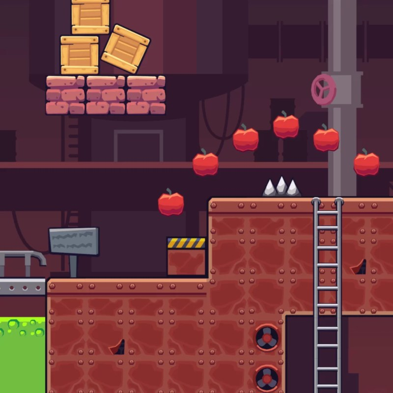 Factory Area - 2D Game Tileset