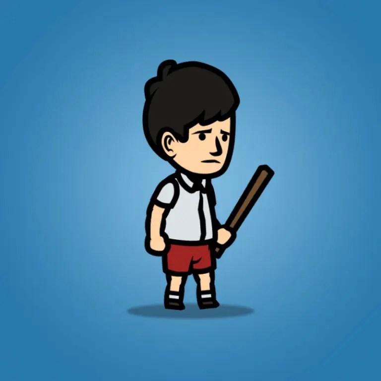 Sad Boy - 2D Character Sprite