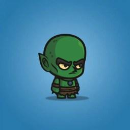 Evil Goblin - 2D Character Sprite