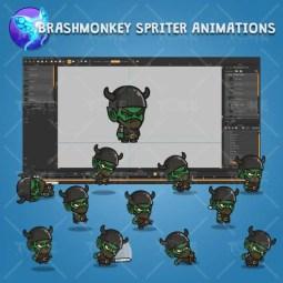 Goblin Knight - Brashmonkey Spriter Character Animations