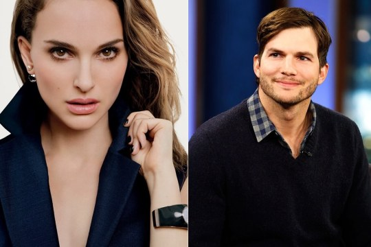Natalie Portman and Ashton Kutcher