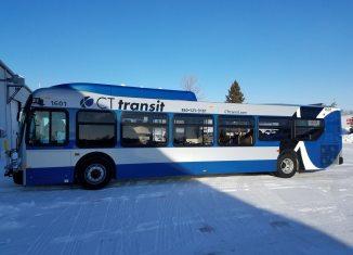 CT Transit Bus