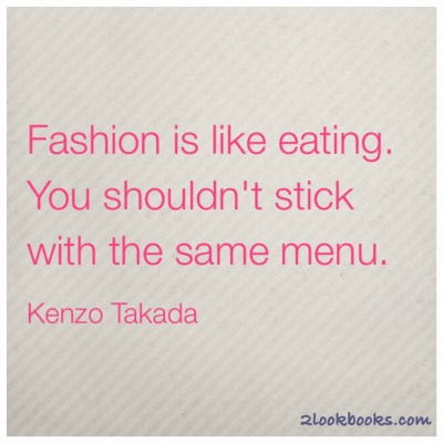 #MondayMotivation: Kenzo Takada Quote