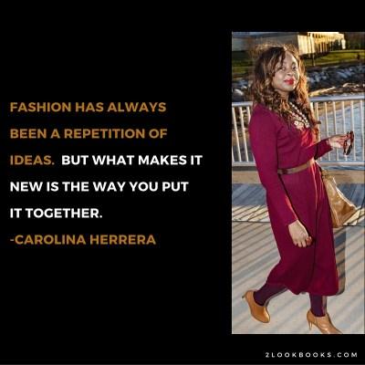#MondayMotivation/#MotivationMonday Quote: Carolina Herrera