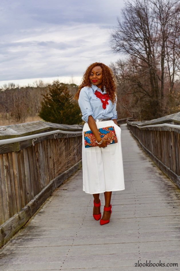 How to wear white culottes21