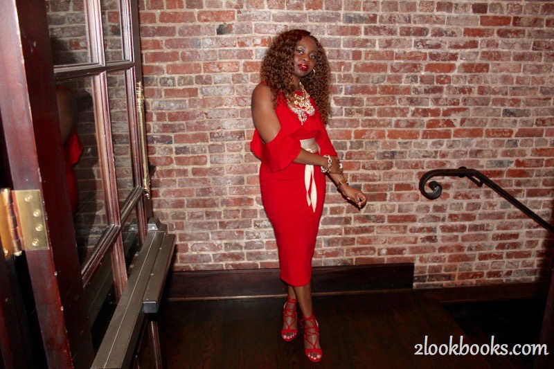 Red Party Dress10