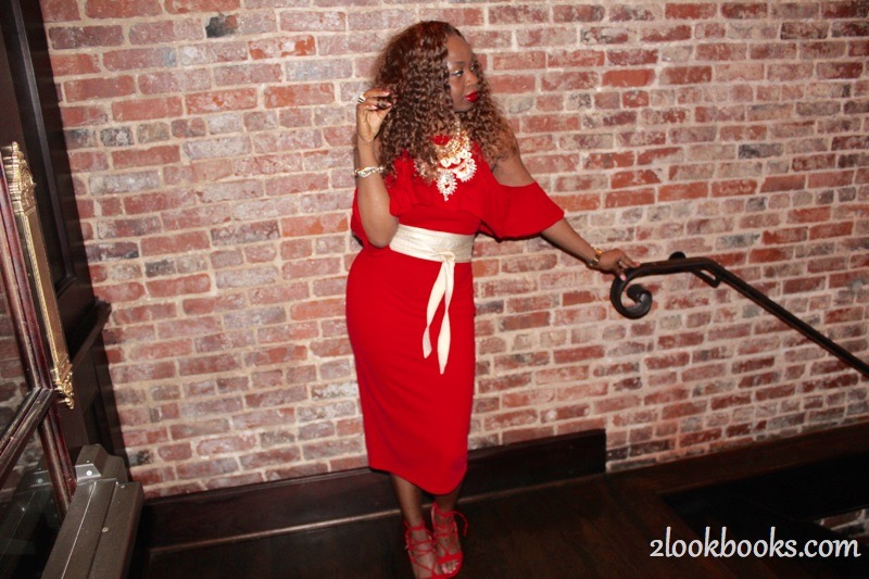 Red Party Dress8