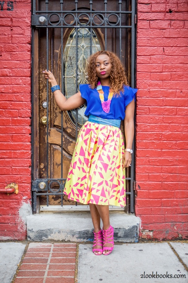 How to Style a Yellow Skirt8