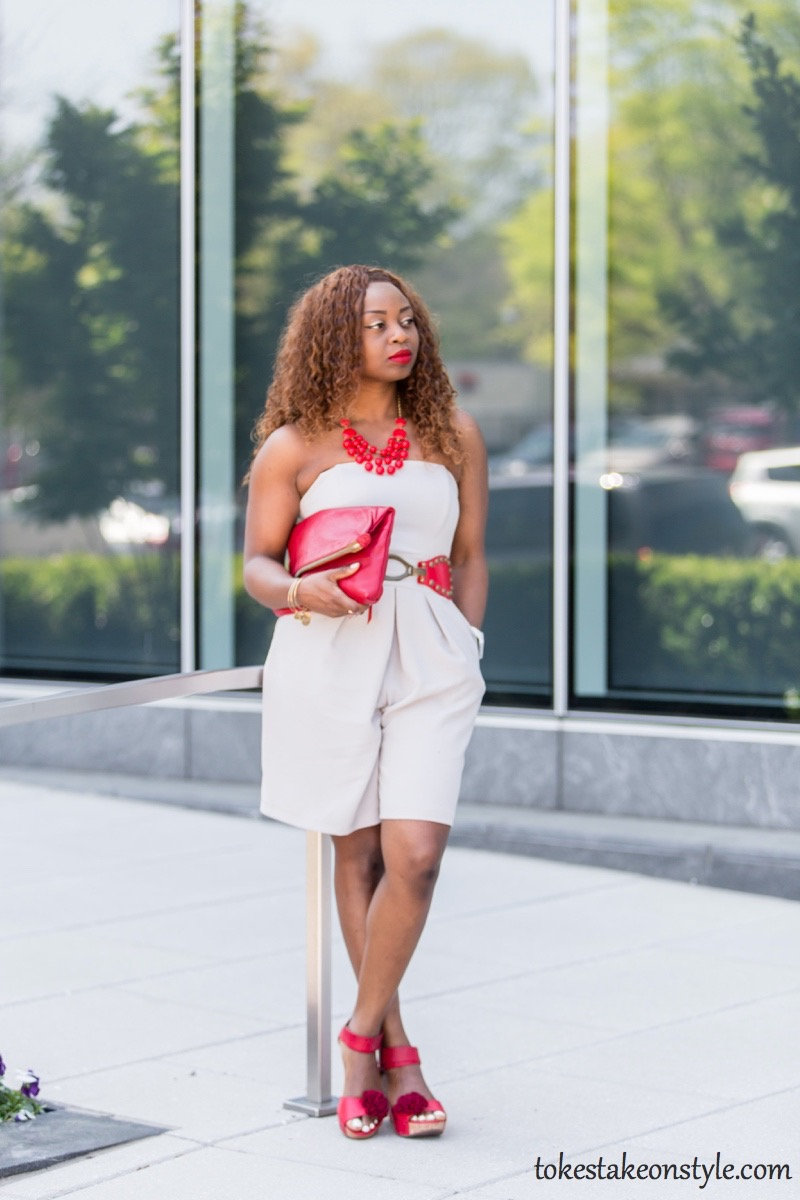 How to Wear a Culotte Jumpsuit in Summer7