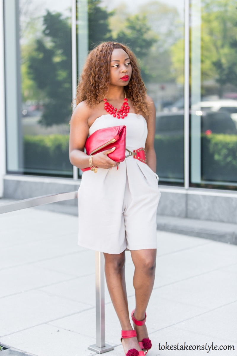 How to Wear a CulotteJumpsuit in Summer6