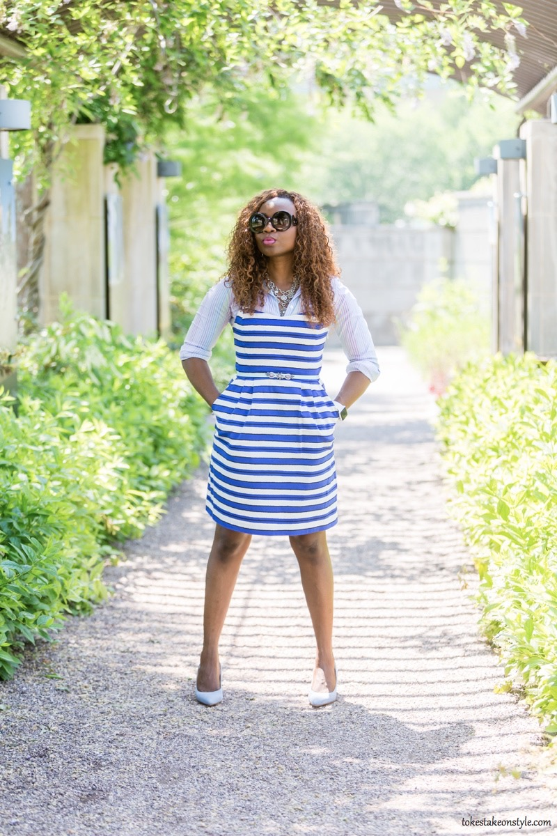 How to Style a Slip Dress for Work11
