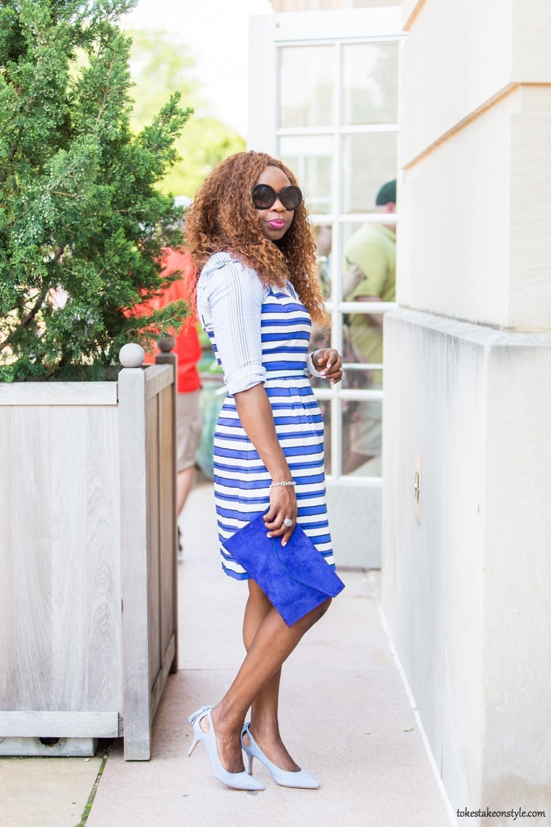How to Style a Slip Dress for Work4