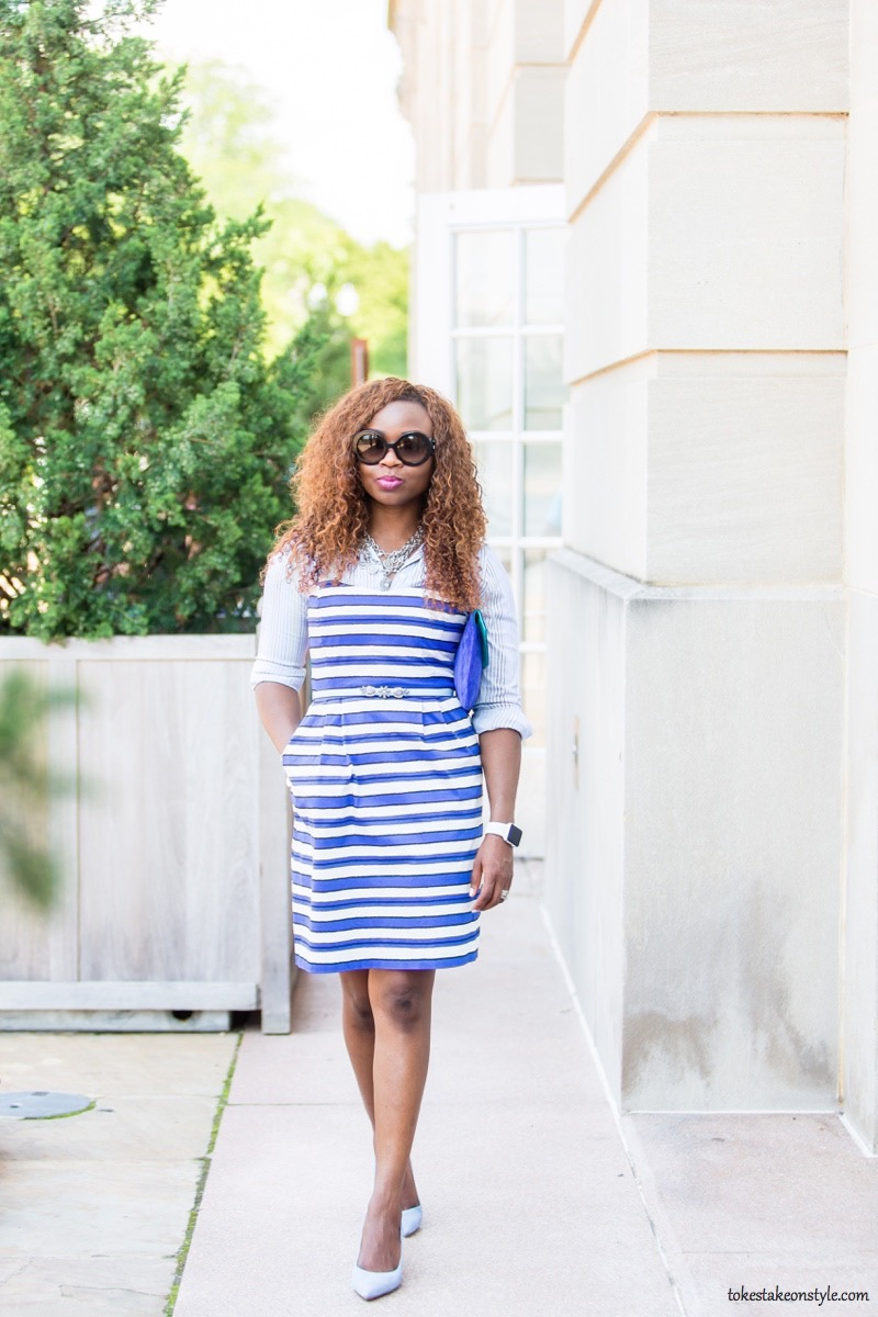 How to Style a Slip Dress for Work8