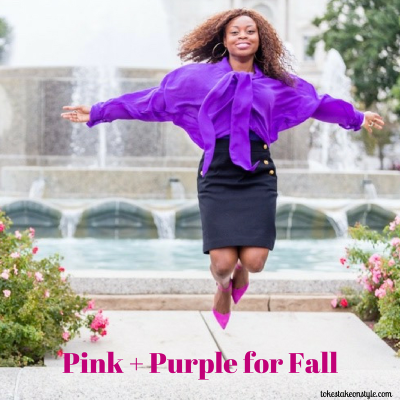 Fall Brights: Pink for Breast Cancer Awareness Month