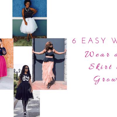 tulle skirt style women