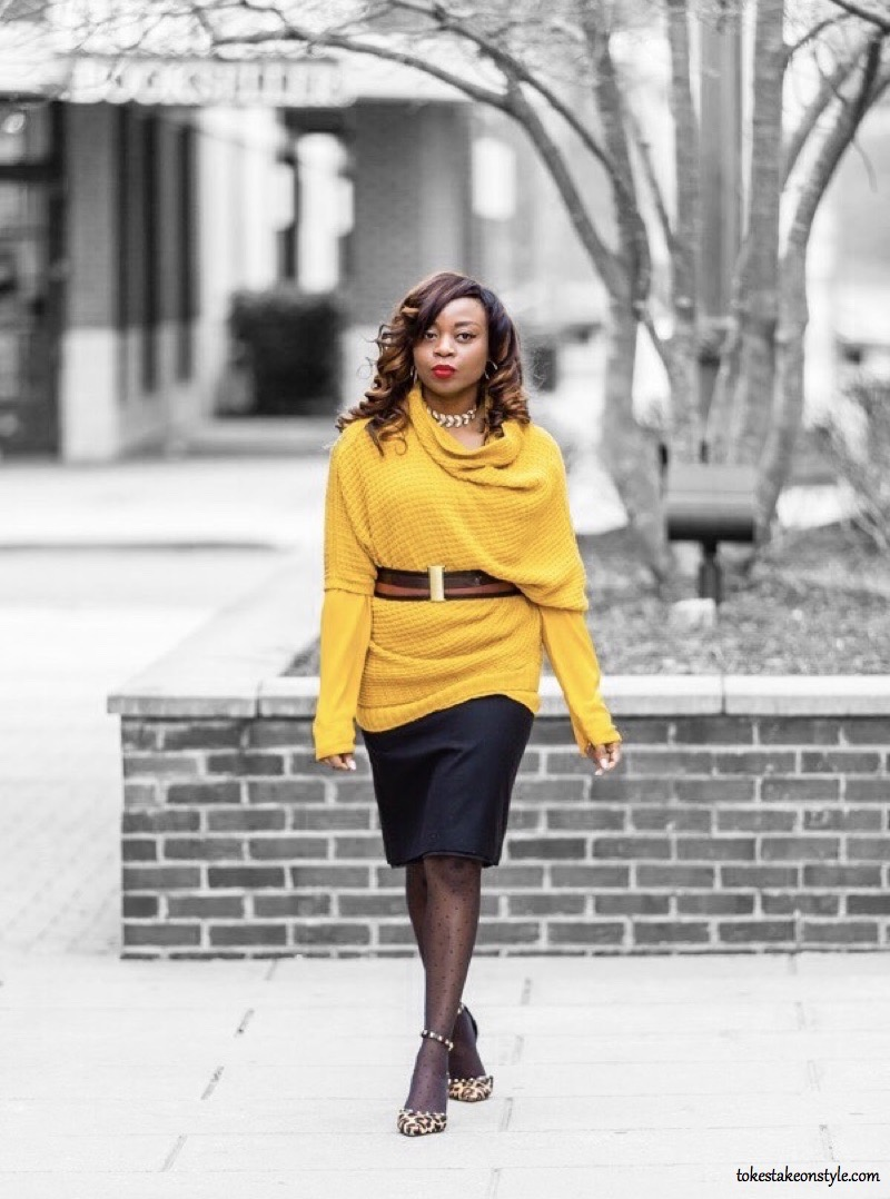 Cute and Professional Mustard Yellow Outfits for Now - Tokes' Take ...