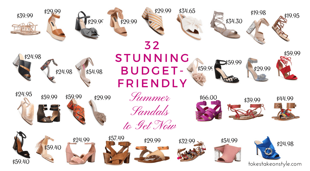 Budget-friendly Summer Sandals