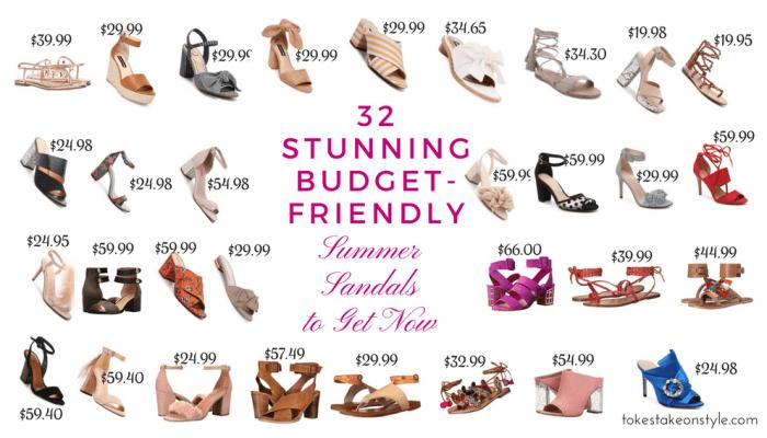 32 Stunning Budget-Friendly Summer Sandals to Get Now