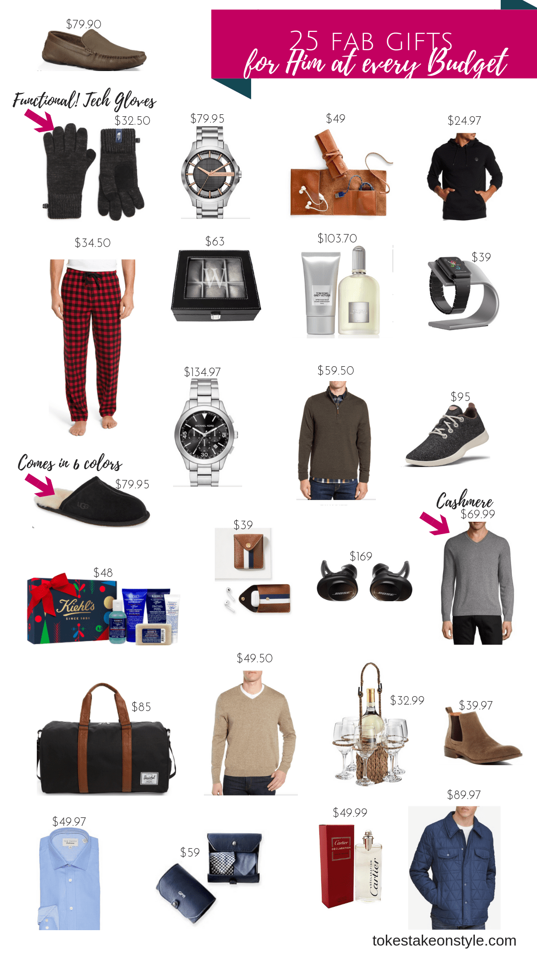 tokestakeonstyle-christmas-gifts-for-him-every-budget-2018