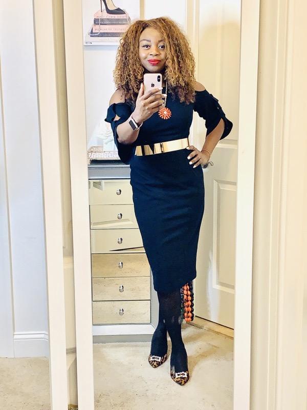 classic-wardrobe-essentials-black-cut-out-shoulder-sheath-dress
