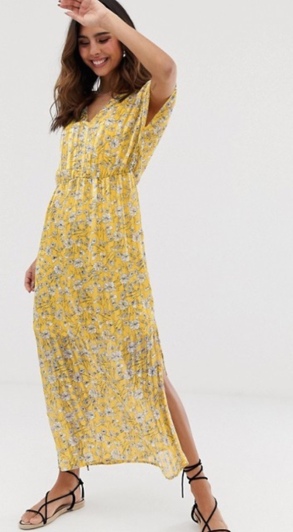 sheer-overlay-dress-yellow-florals-wearable-summer-2020-fashion-trends