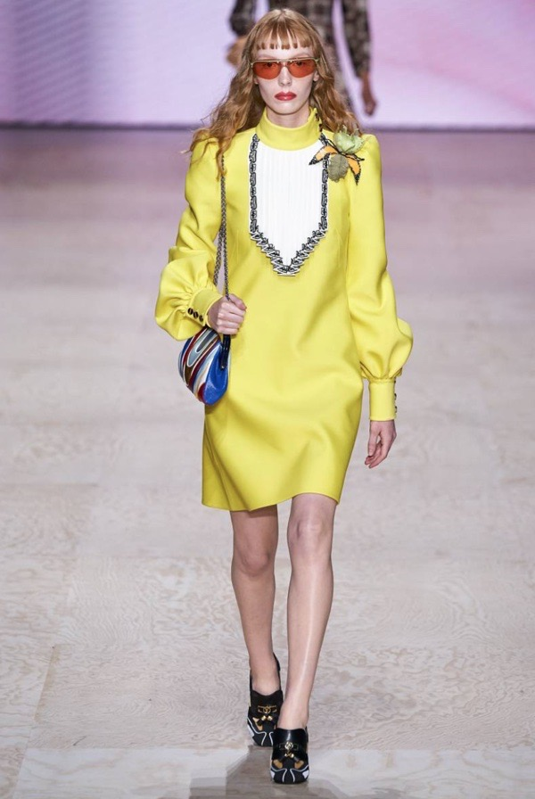 wearable-summer-2020-fashion-trends-chartreuse-Louis-Vuitton-dress