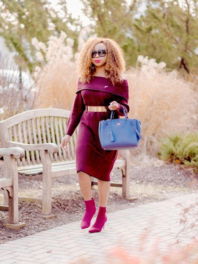 Easy Ways to Style a Sweater Dress