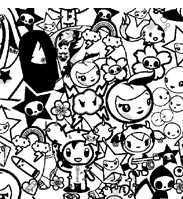 tokidoki latte colouring pages page 3