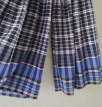 【簡単リメイク】マキシスカートをパンツに