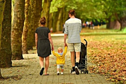 walk with family