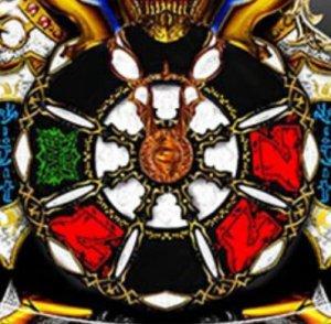 Pロードファラオ 神の一撃 羅神盤リーチ