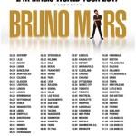 ブルーノ・マーズ 2017年ワールドツアー日程!海外コンサートチケット購入方法