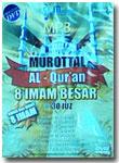 MP3 DVD Murottal Al-Qur'an 8 Imam Besar